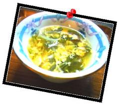 寒天入り酸辣湯(サンラータン)